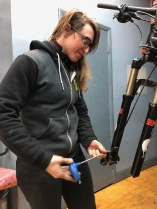 Rachel Rubino, Professional Bicycle Mechanic & Cycling Advocate